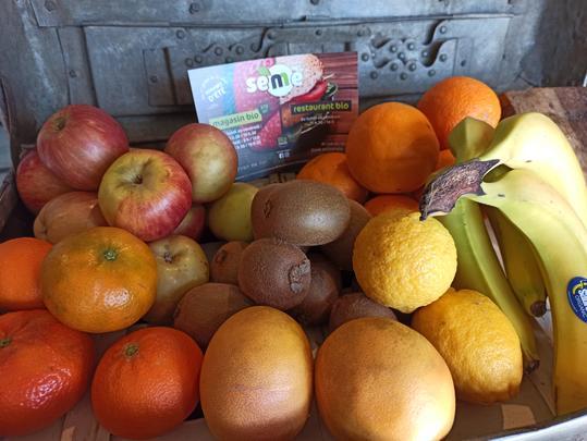 légumes et des fruits bio